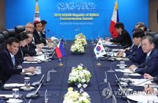Séoul et Manille conviennent d'oeuvrer à la signature d'un accord de libre-échange