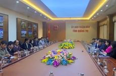 Des entreprises de Singapour étudient un projet de l'aéroport de Quang Tri