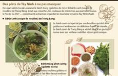 Des plats de Tây Ninh à ne pas manquer