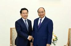 Le PM Nguyen Xuan Phuc reçoit le ministre laotien des Affaires étrangères