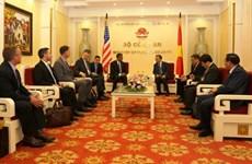 Vietnam et États-Unis coopèrent contre le trafic transnational de drogues