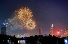 Ho Chi Minh-Ville tirera des feux d'artifice en l'honneur du Nouvel An du Rat