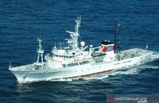 Le Japon remet un patrouilleur à l'Indonésie