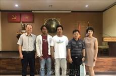 Le Vietnam reçoit deux pêcheurs sauvés dans le golfe de Thaïlande