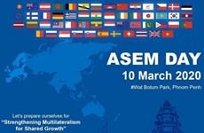 Le Cambodge célèbre la Journée de l'ASEM