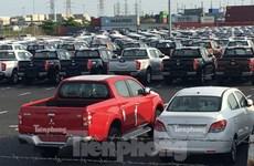 Février: 94% des automobiles importées au Vietnam viennent de Thaïlande et d'Indonésie