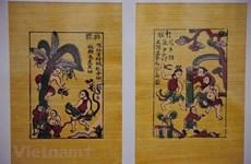 L'art des estampes populaires de Dông Hô dans le vent