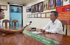Les Vietnamienne au Cambodge font face activement à la pandémie de COVID-19
