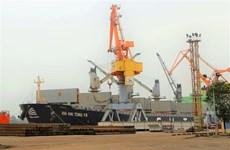 Trois grands navires jettent l'ancre au port de Hai Phong  