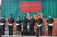 COVID-19 : dons pour des Vietnamiens au Cambodge et des militaires au Laos