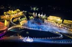 La fête de l'Ao dài Hoi An-beaux paysages du Vietnam séduit les visiteurs à Hoi An