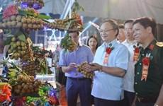 Ouverture de la Fête des longanes de Hung Yen 2020