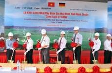 Les entreprises thaïlandaises s'intéressent à la centrale éolienne de Ninh Thuan