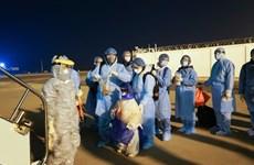 Partage de citoyens vietnamiens revenant de Wuhan après 21 jours d'isolement