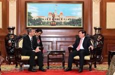 Ho Chi Minh-Ville promet son soutien au développement des relations avec le Japon