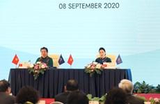 Laos et Brunei saluent le rôle de présidence de l'ASEAN et de l'AIPA-41 du Vietnam
