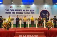 Ouverture de l'exposition Top Thai Brands 2020 à Hô Chi Minh-Ville