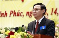 Ouverture du 17e Congrès de l'organisation du Parti de la province de Vinh Phuc