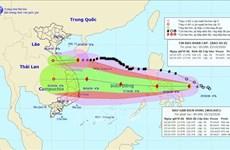 La tempête Saudel a touché les provinces centrales le 25 octobre