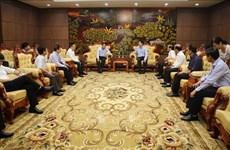 Une délégation de la VNA effectue une visite de travail dans  la province de Quang Tri