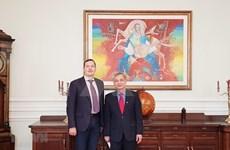 Renforcement des relations d'amitié Vietnam-Ukraine