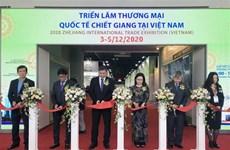Foire-exposition du commerce international du Zhejiang 2020 à Hô Chi Minh-Ville
