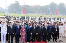 Hommage au Président Hô Chi Minh à l'occasion du 10e Congrès national d'émulation patriotique