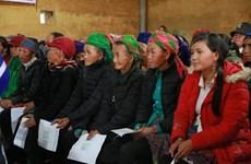 ONU Femmes : 1,4 milliard de dôngs en faveur des familles pauvres de Lào Cai