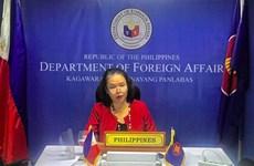 Les Philippines restent attachées à l'achèvement d'un Code de conduite en Mer Orientale