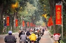 Hanoï est embelli pour accueillir le 13e Congrès national du Parti