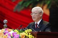 Ouverture du 13e Congrès national du Parti à Hanoï