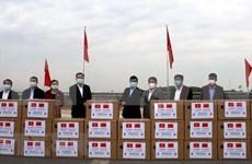 COVID-19 : la Chine offre des fournitures médicales à la province de Quang Ninh