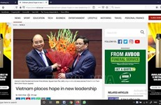 Les médias étrangers apprécient les nouveaux dirigeants  du Vietnam