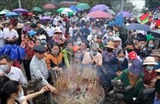 Phu Tho : les Temples des Rois Hung accueillent plus de 30.000 visiteurs en deux jours