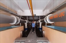 Binh Duong met en fonctionnement l'usine d'eau de Tan Hiep