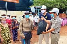 COVID-19: soutien aux citoyens d'origine vietnamienne à Preah Sihanouk (Cambodge)