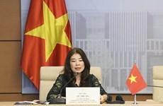 UIP: Le Vietnam à une réunion virtuelle sur la protection des enfants dans le cyberespace