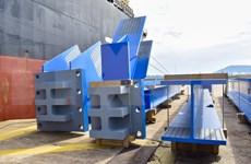 Doosan Vina exporte 1.560 tonnes de principaux composants structurels vers l'Indonésie