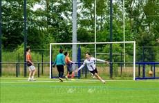 """Tournoi de football """"NNB - Coupe de Lille 2021"""" des étudiants vietnamiens en France"""