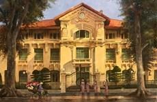 Souvenir d'un Hanoï ensoleillée à travers des tableaux d'un amoureux de la capitale vietnamienne