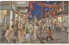 Une exposition en ligne célèbre le 67e anniversaire de la Journée de libération de la capitale