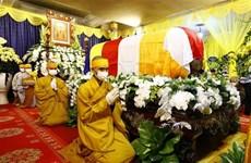 Cérémonie funéraire du vénérable Thich Phô Tuê
