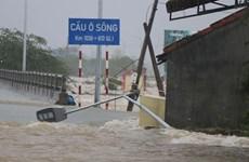 Les inondations causent beaucoup de dégâts dans la région Centre