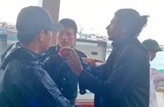 Ly Son accueille un marin indien blessé après un accident de travail