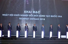 Start-up : ouverture de Techfest Vietnam 2018