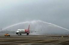 Inauguration d'une ligne aérienne entre Ho Chi Minh-Ville et Van Don