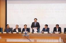 Le vice-PM Vuong Dinh Hue travaille avec Hanoï sur les IDE