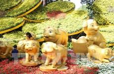 Ouverture d'une fête des fleurs à Ho Chi Minh-Ville