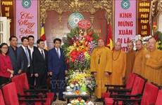 Hanoï et Ho Chi Minh-Ville adressent leurs voeux du Têt aux religieux
