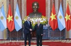 Communiqué conjoint Vietnam-Argentine